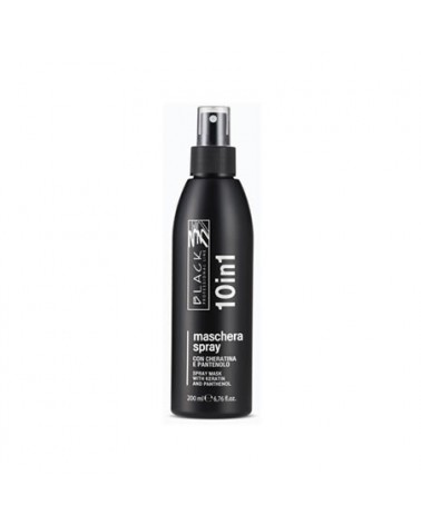 Spray 10 en 1 sin aclarado 200 ml Black Professional Line - 1