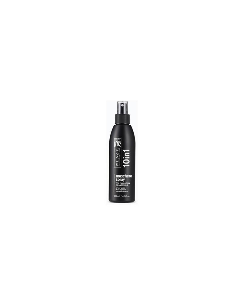 Spray 10 en 1 sin aclarado 200 ml Black Professional Line - 1