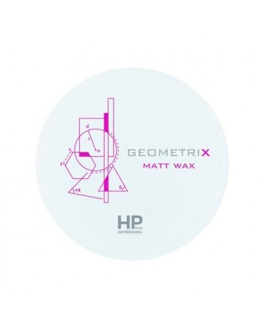 Cera efecto mate GEOMETRIX HP Firenze Hair Professional - 1