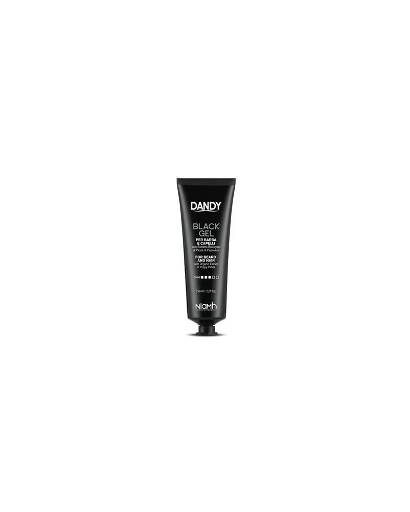 Dandy Gel Negro para barba y cabello gris Black Professional Line - 1