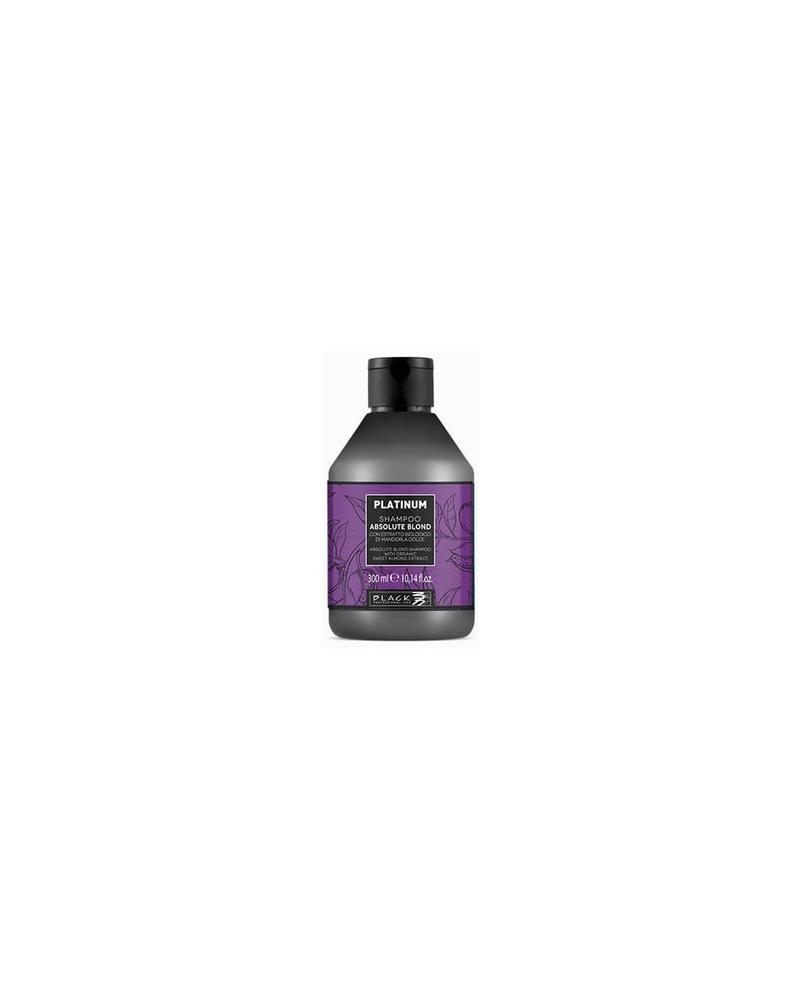 Champú PLATINUM –para cabellos rubios y blancos 300ml Black Professional Line - 1