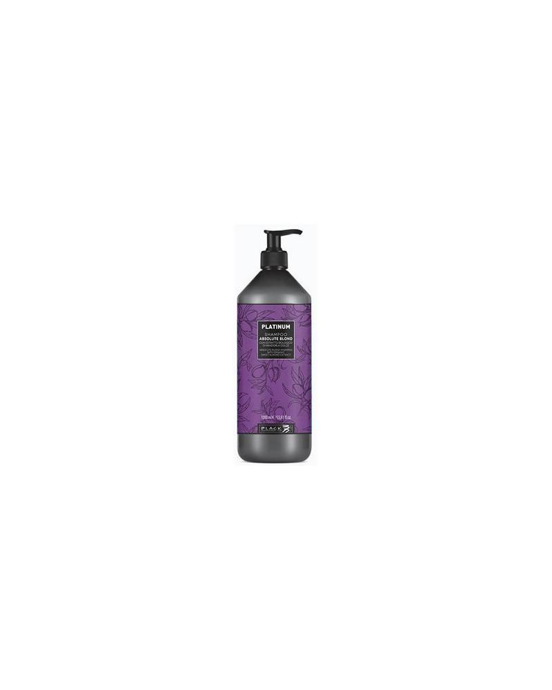 Champú PLATINUM – cabellos rubios y blancos 1000ml Black Professional Line - 1