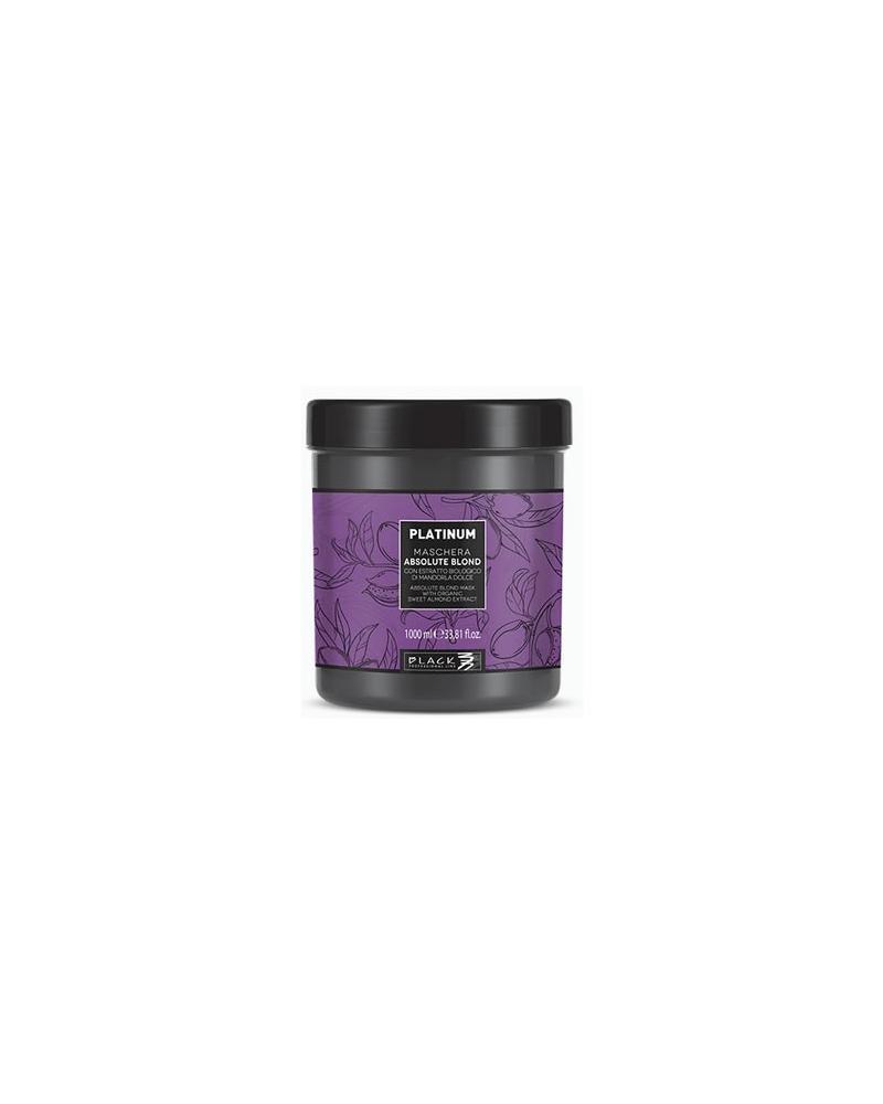Mascarilla PLATINUM para cabellos blancos 1000ml  - 1