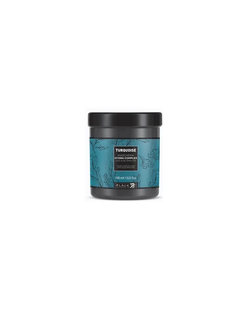 Mascarilla TURQUOISE Hidratante cabello fino – Hydra Complex 1000ml Black Professional Line - 1