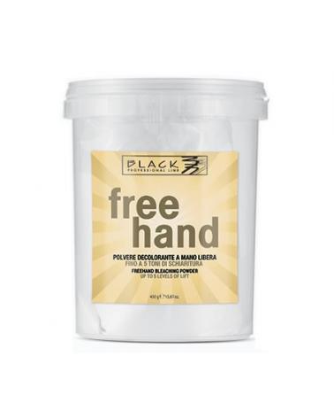 Polvo decolorante de Mano Alzada Black Line 450 gr