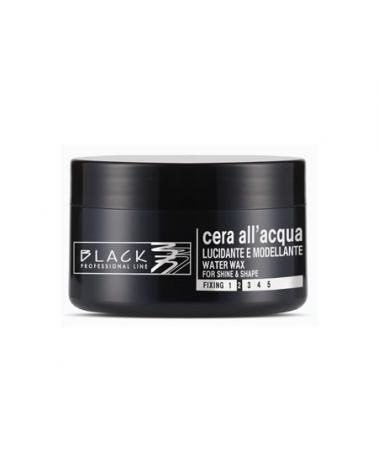 Cera Luminosa Modelante al agua 100ml Black Professional