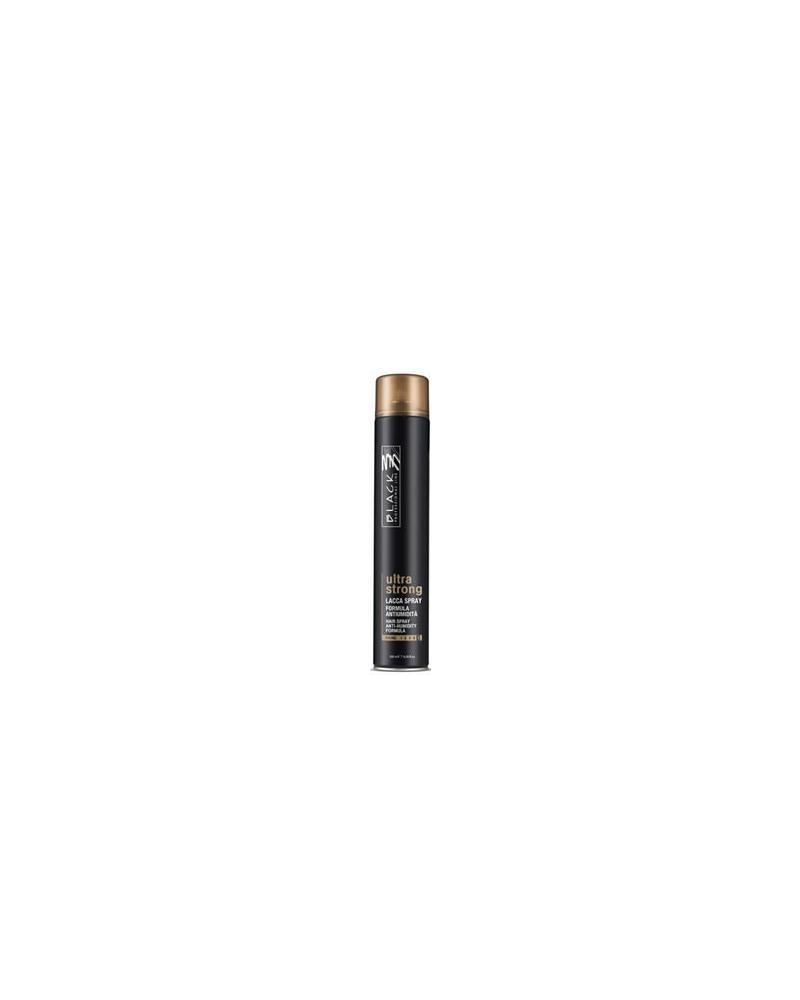 Laca Ultra Strong Anti Humedad Black Professional 500 ml