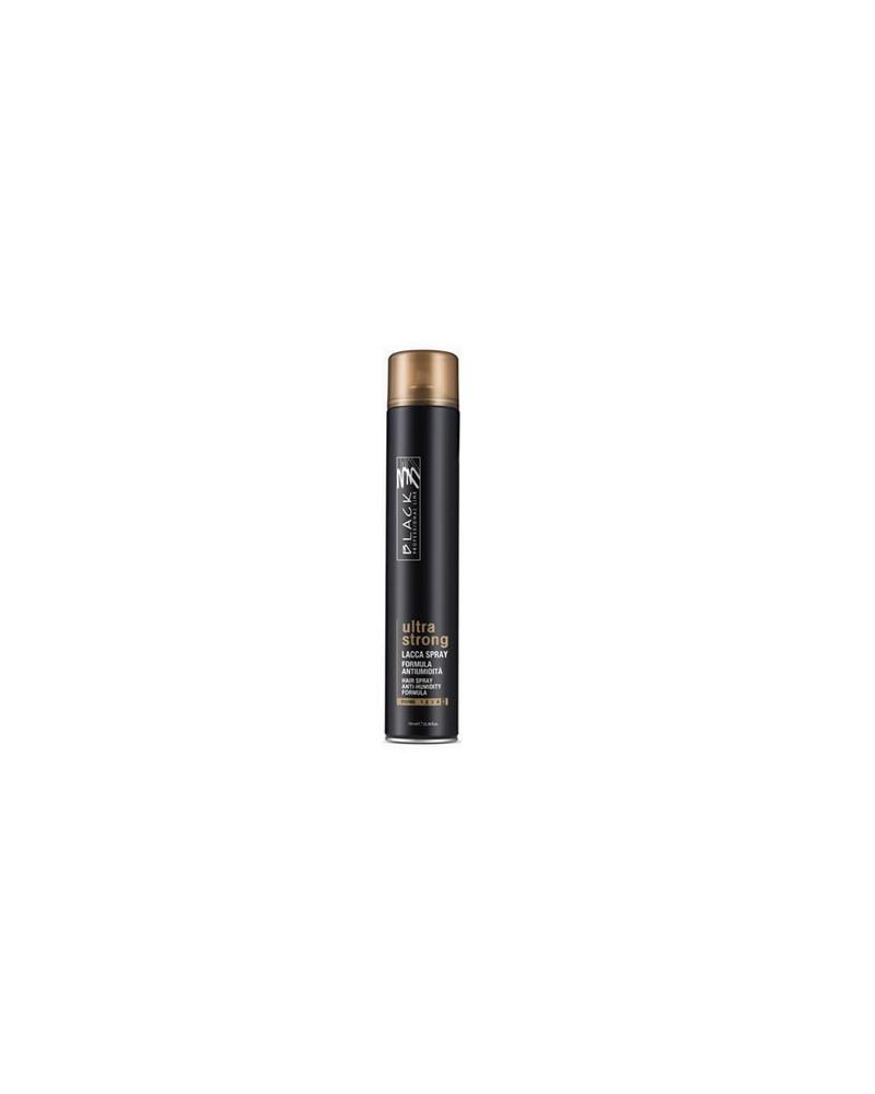 Laca Ultra Fuerte Anti Humedad Black Professional 750 ml