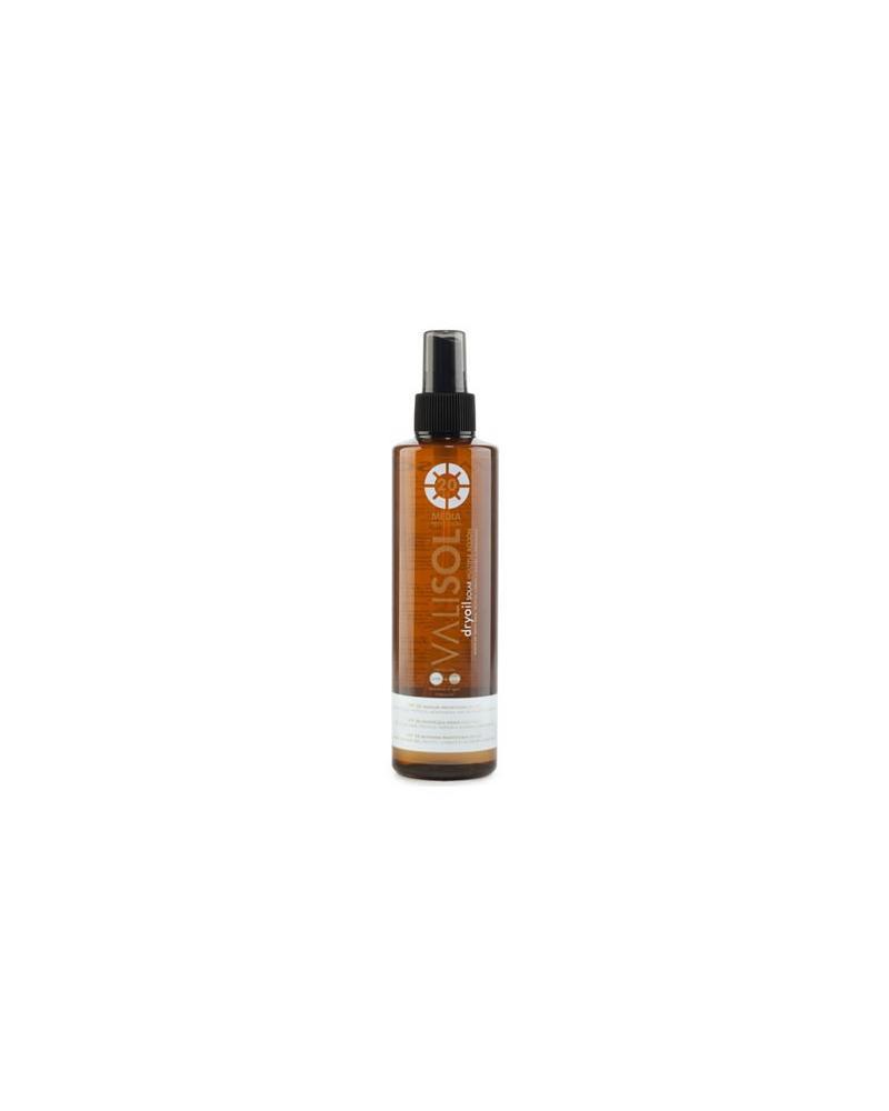 Spray aceleredor Dry Oil SPF20 con aceleredor 250 ml